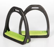 COMPOSITI STIRRUPS ADULTS - LIME GREEN
